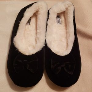 Black Avon Slippers